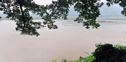三峡蓄水已至开县文峰塔遗址一带